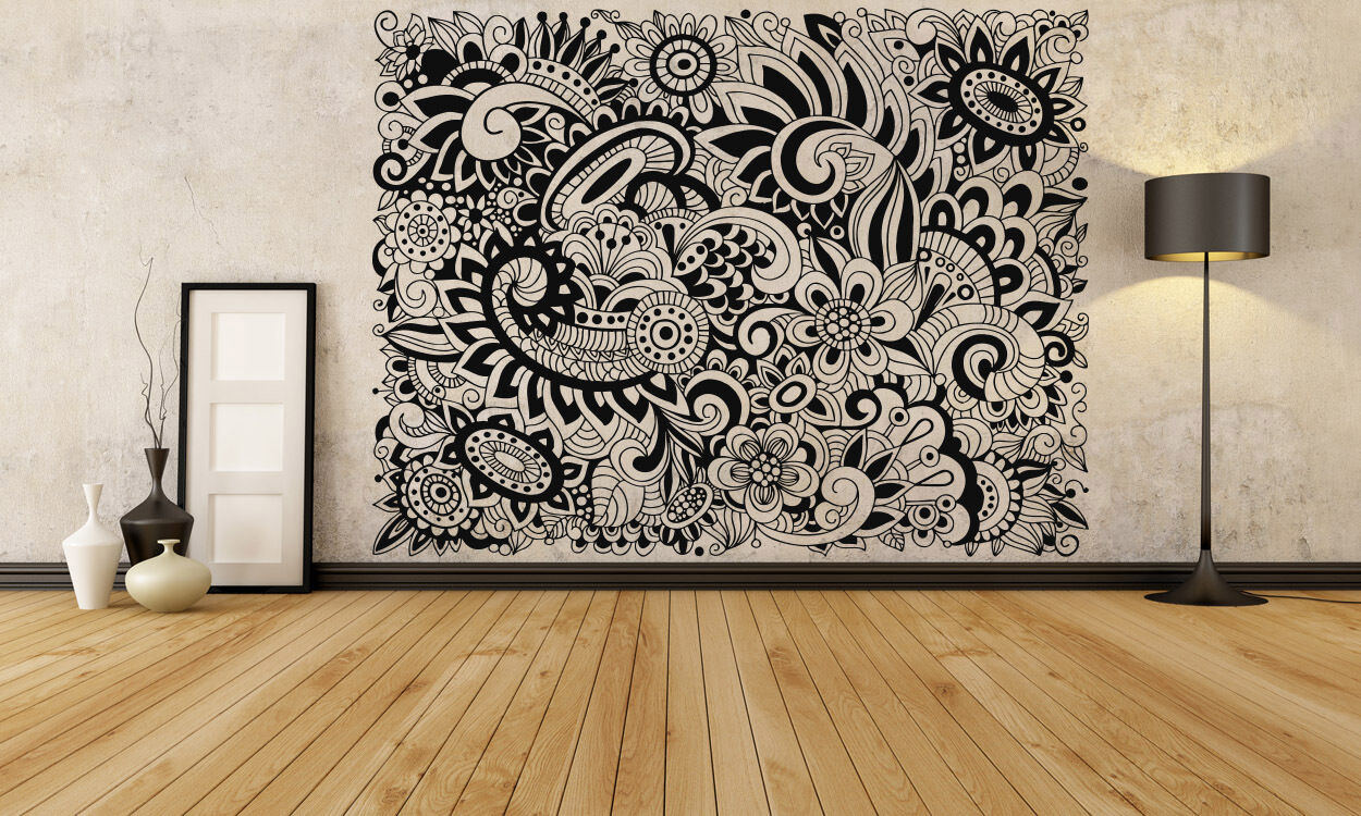 Wall Room Decor Art Vinyl Sticker Mural Decal Doodle. Leaf Lettering. Back To School Signs Of Stroke. Rick And Morty Stickers. Digital Business Banners. Verna Decals. Nice Car Decals. Venom Logo. Ruler Decals