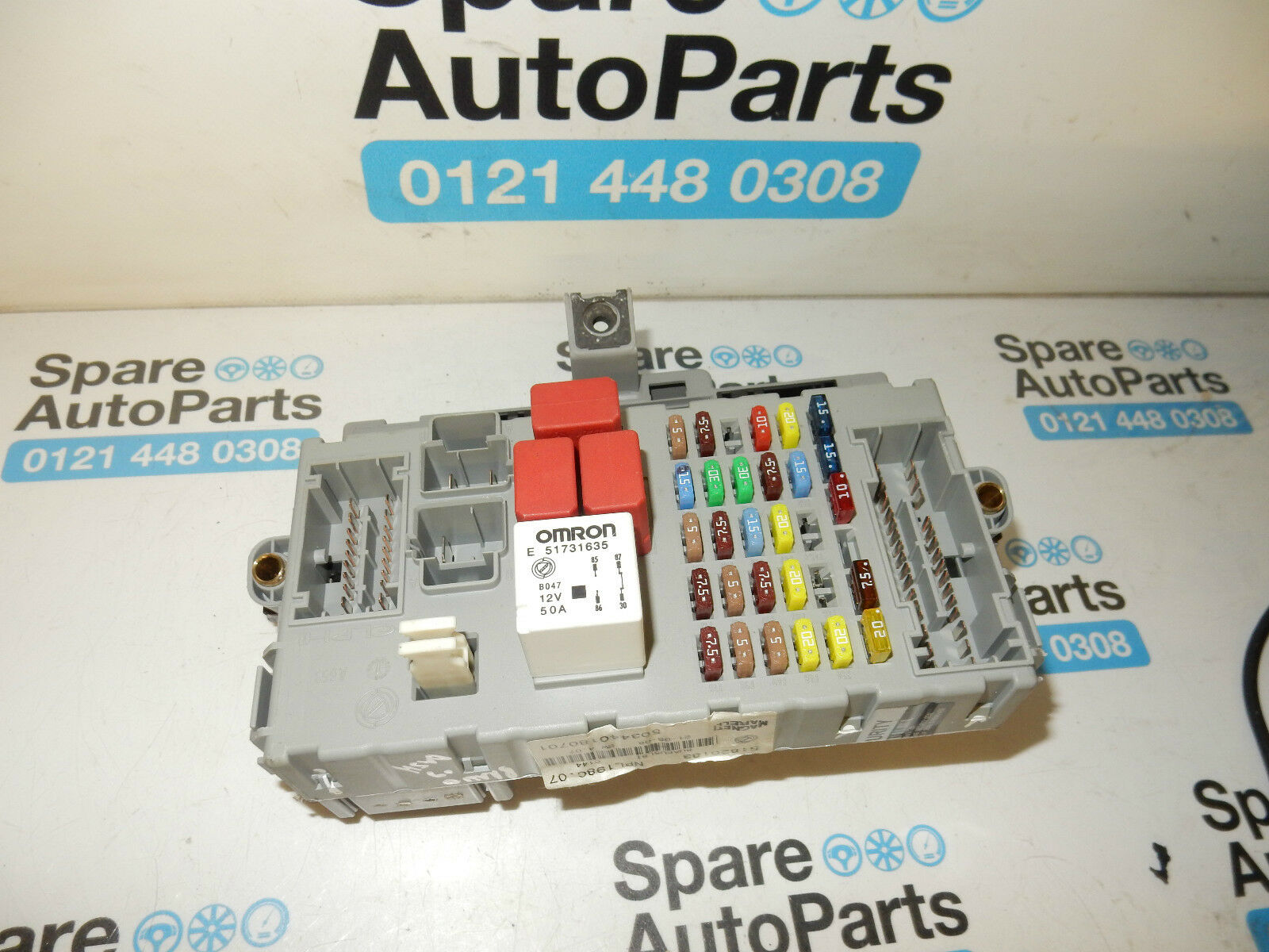 Fiat Bravo Mk2 Under Dash Fuseboard, Fuse Box 51826183 1 of 8Only 3  available ...