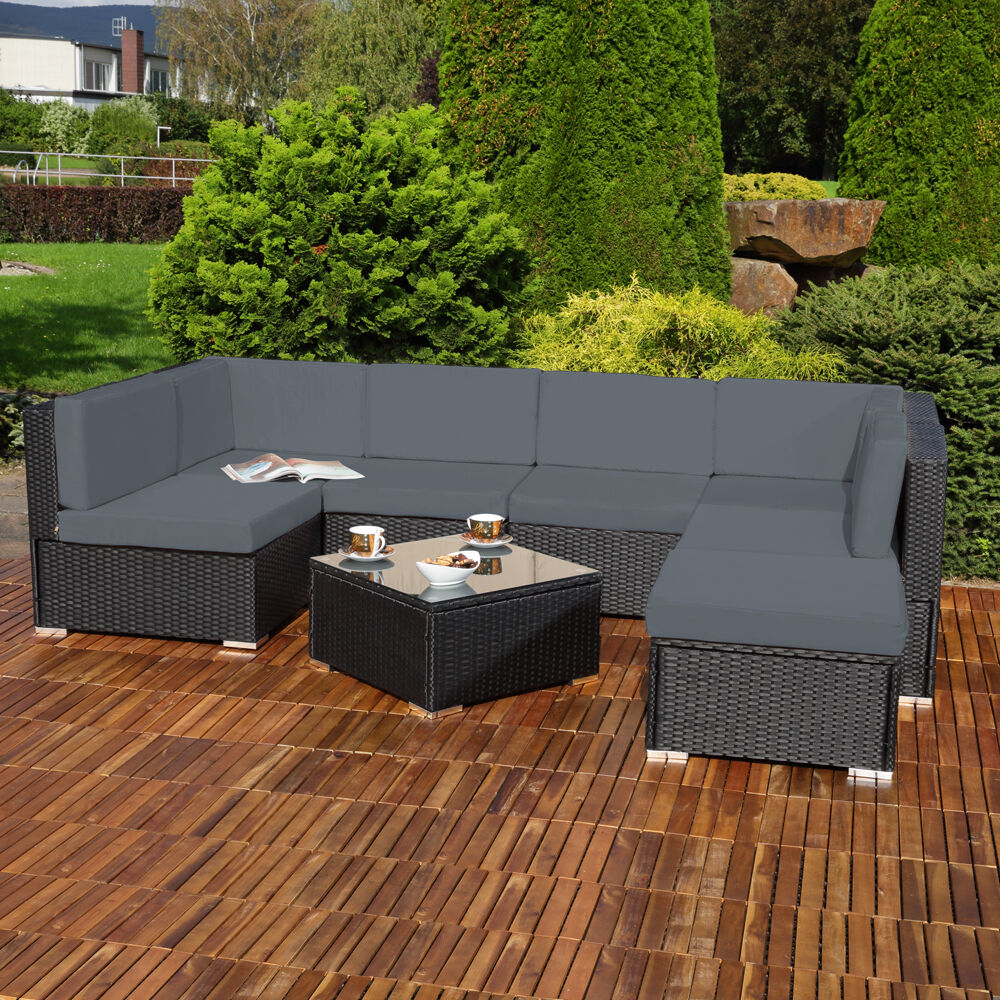 Lounge garnitur terrasse kreatives haus design - Amenager lounge m ...