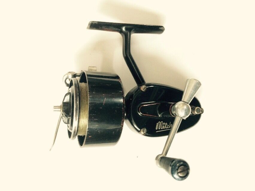 Old mitchell fishing reel 2nd version 2 2 re furbished for Mitchell fishing reels