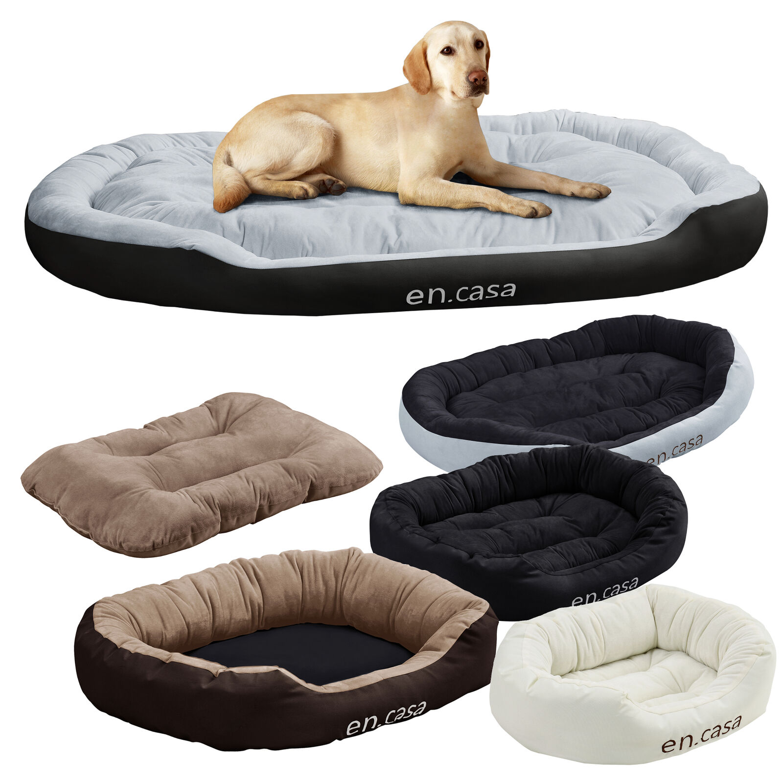 en casa hundebett katzen bett kissen tier korb hundekissen hundesofa liege eur 16 99. Black Bedroom Furniture Sets. Home Design Ideas