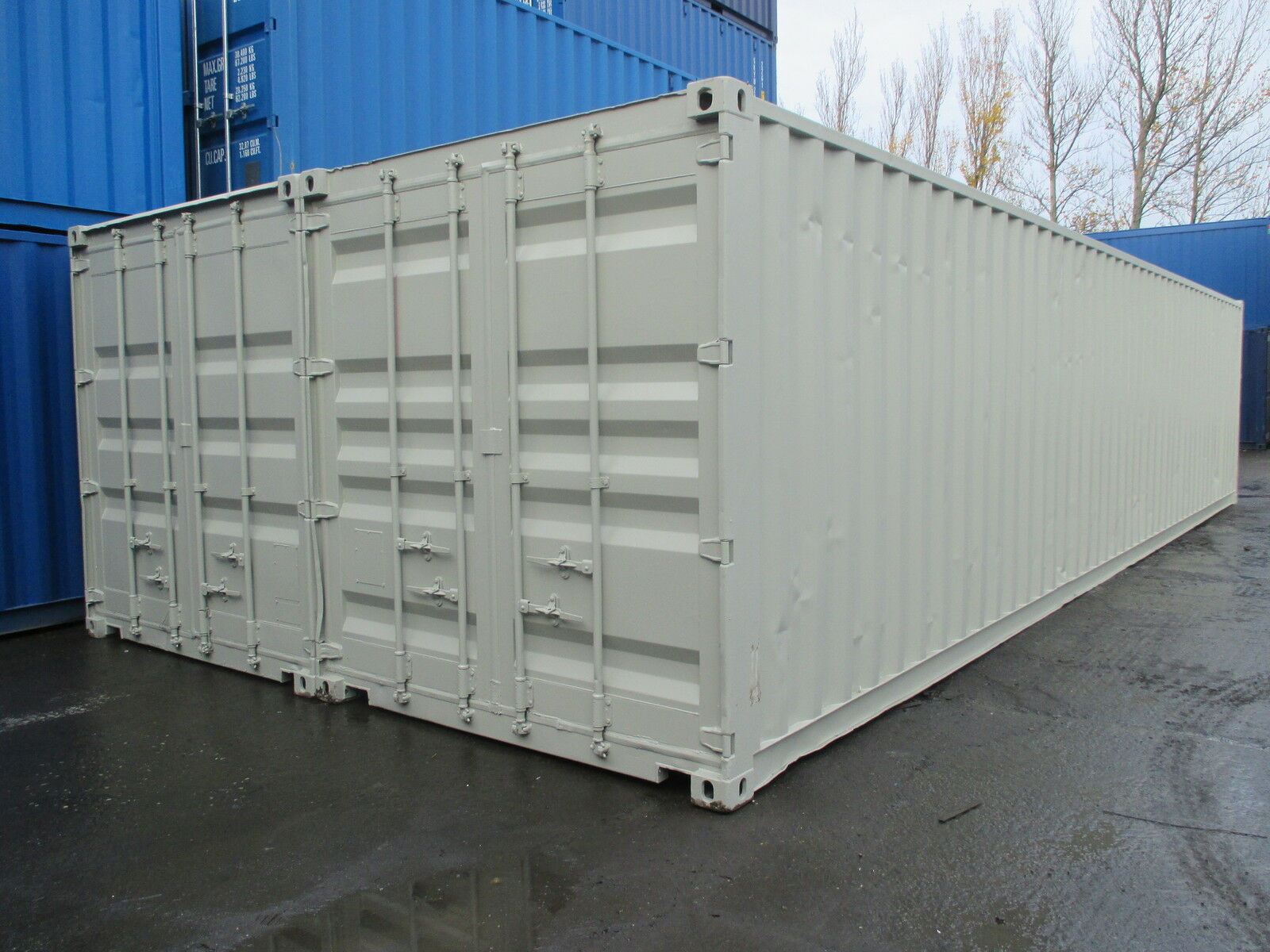 40ft x 16ft newly converted shipping container 4 picclick uk - How to convert a shipping container ...