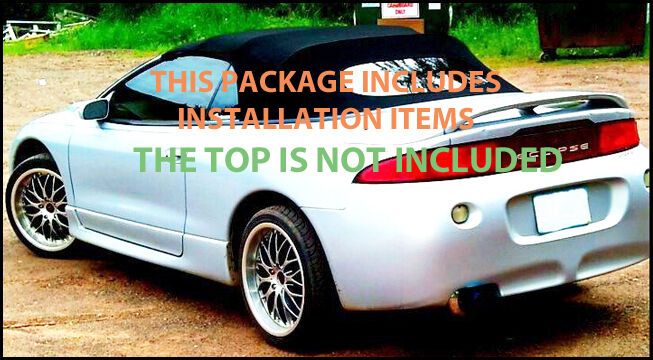 Mitsubishi Eclipse Spyder Convertible Top Do It Yourself Pkg 1995 1999 1 Of  1Only 4 Available ...