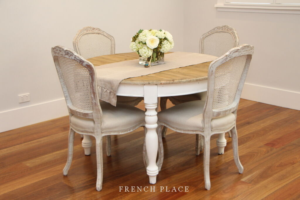 FACTORY 2NDS French Provincial Hamptons Style Dining