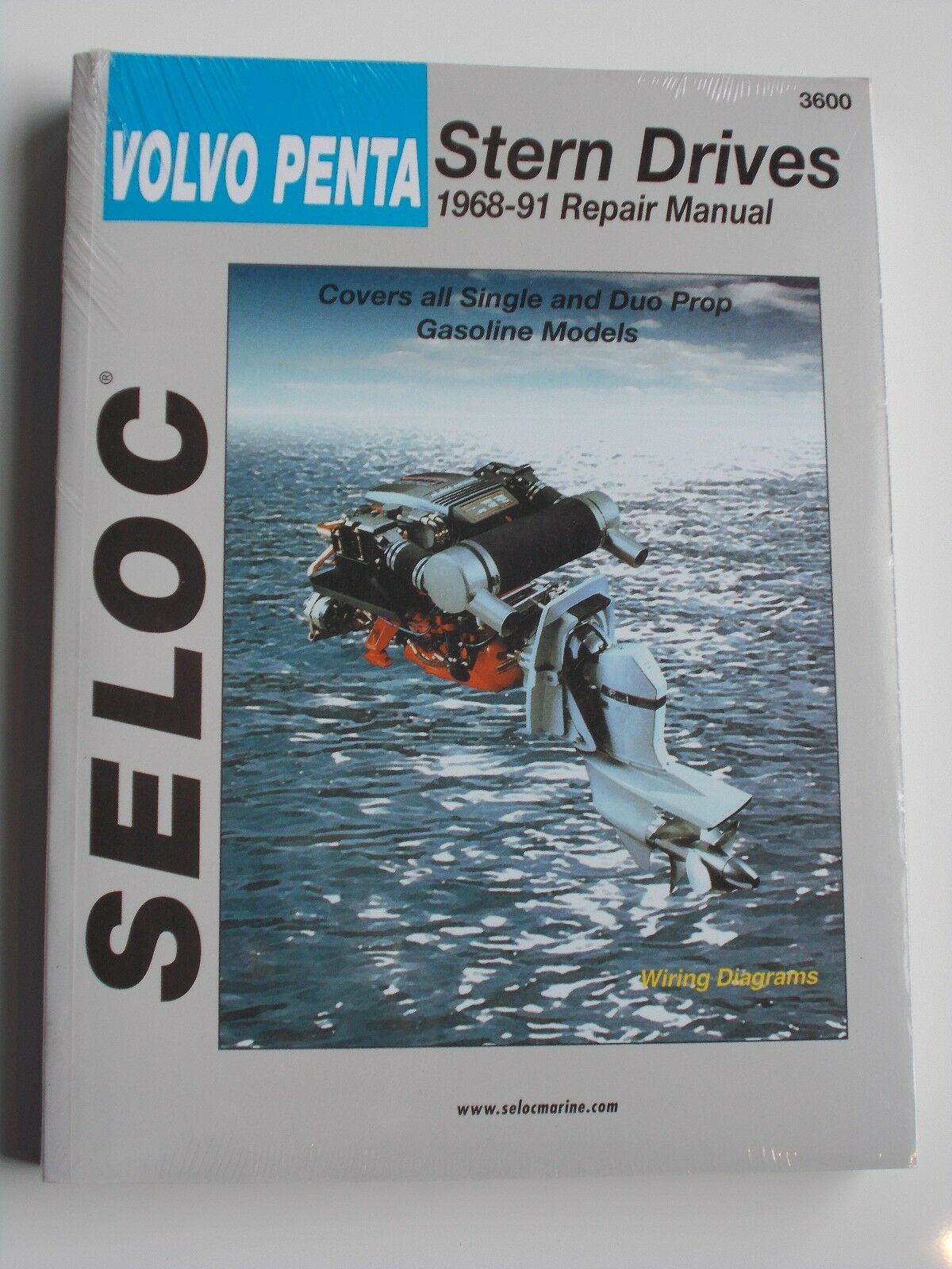 Volvo Penta Service Repair Manual 1968 To 1991 Sterndrive Seloc 3600 1984 Aq125a Engine Diagram 1 Of 1free Shipping