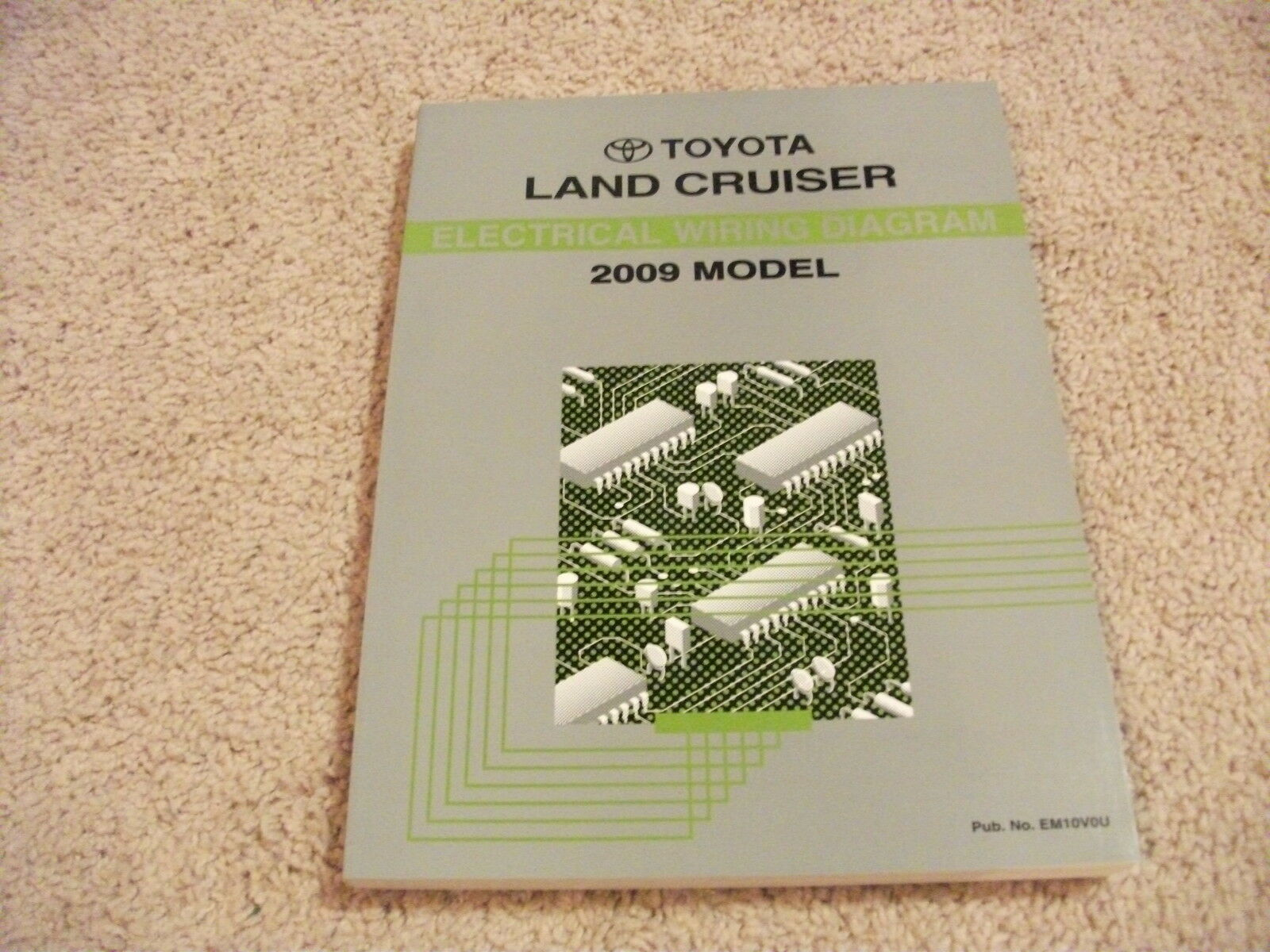 2009 Toyota Land Cruiser Electrical Wiring Diagram Manual Oem 1994 1 Of 1only 4 Available