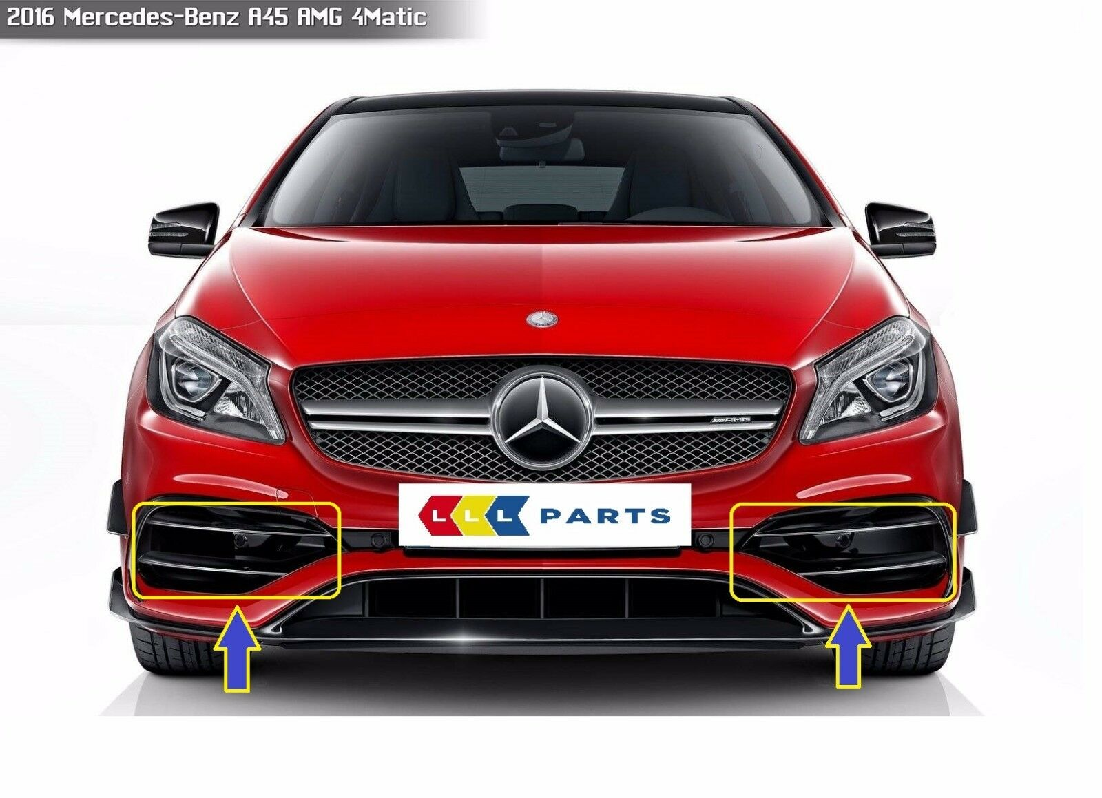 New genuine mercedes benz mb a45 class 2015 w176 amg for Genuine mercedes benz parts