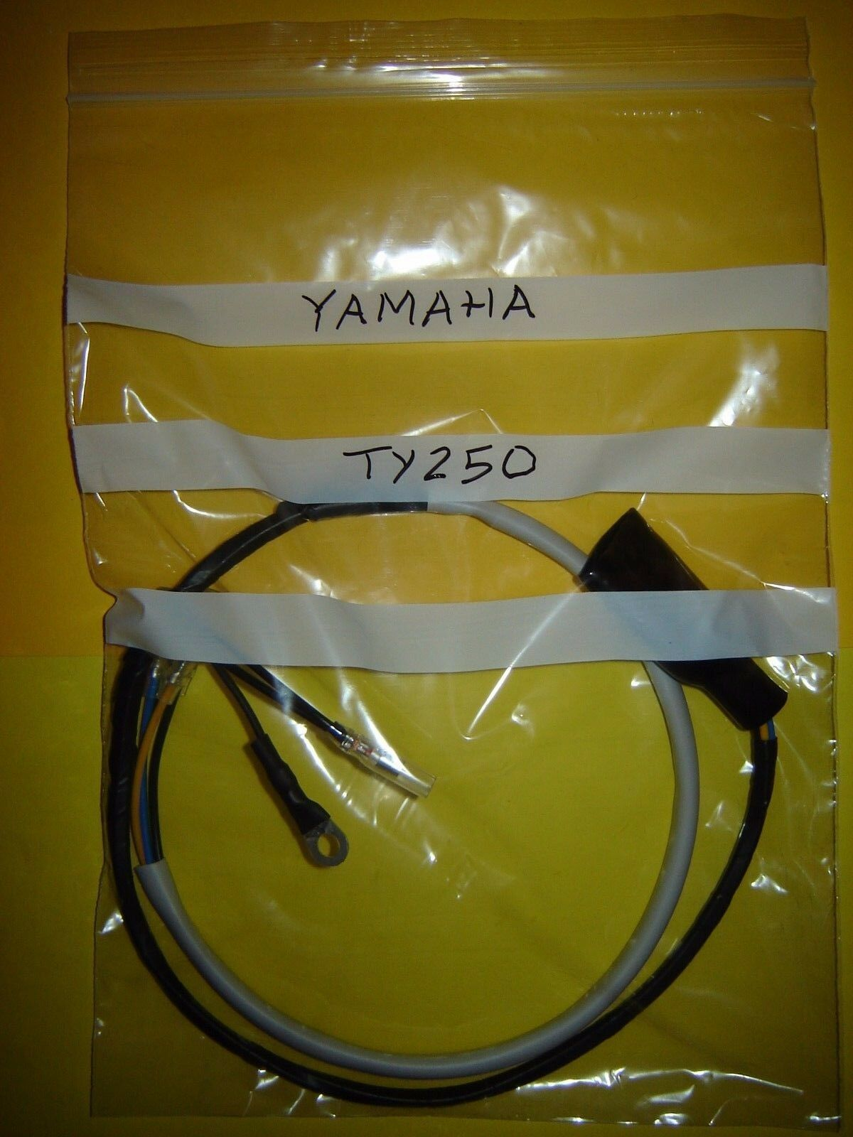 250cc Wiring Harness Yamaha Ty250 Trials Bike Loom New 1974 To 1977 Models 1 Of 5free Shipping