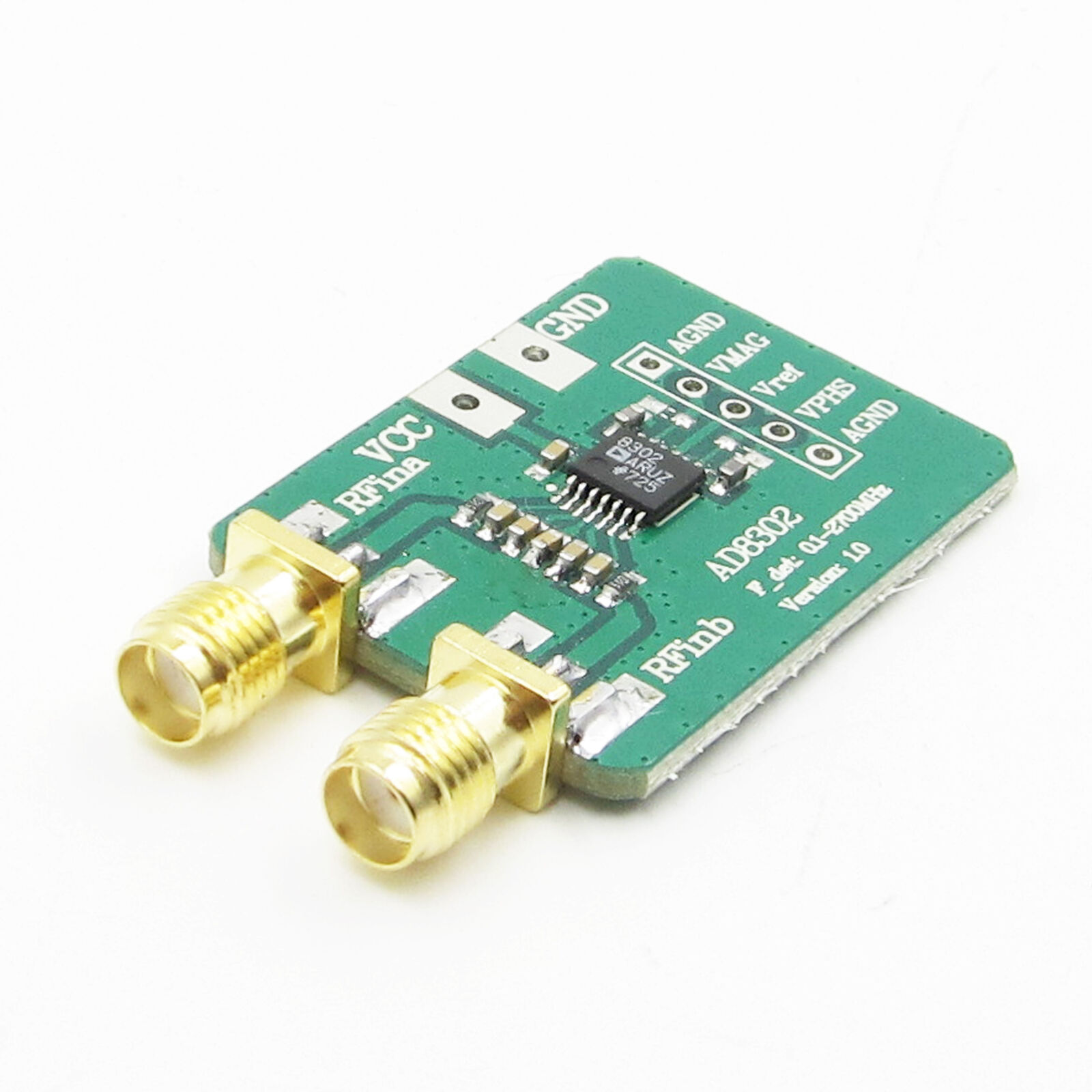New If 27ghz Phase Detection Arduino Ad8302 Amplitude Rf Side 5x7cm Printed Circuit Pcb Vero Prototyping Track Strip Board Uk 1 Of 4free Shipping