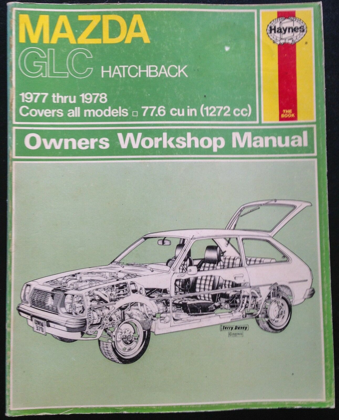1977 1978 MAZDA GLC HATCHBACK, MAZDA 323 REPAIR MANUAL by HAYNES 1 of 2Only  2 available See More