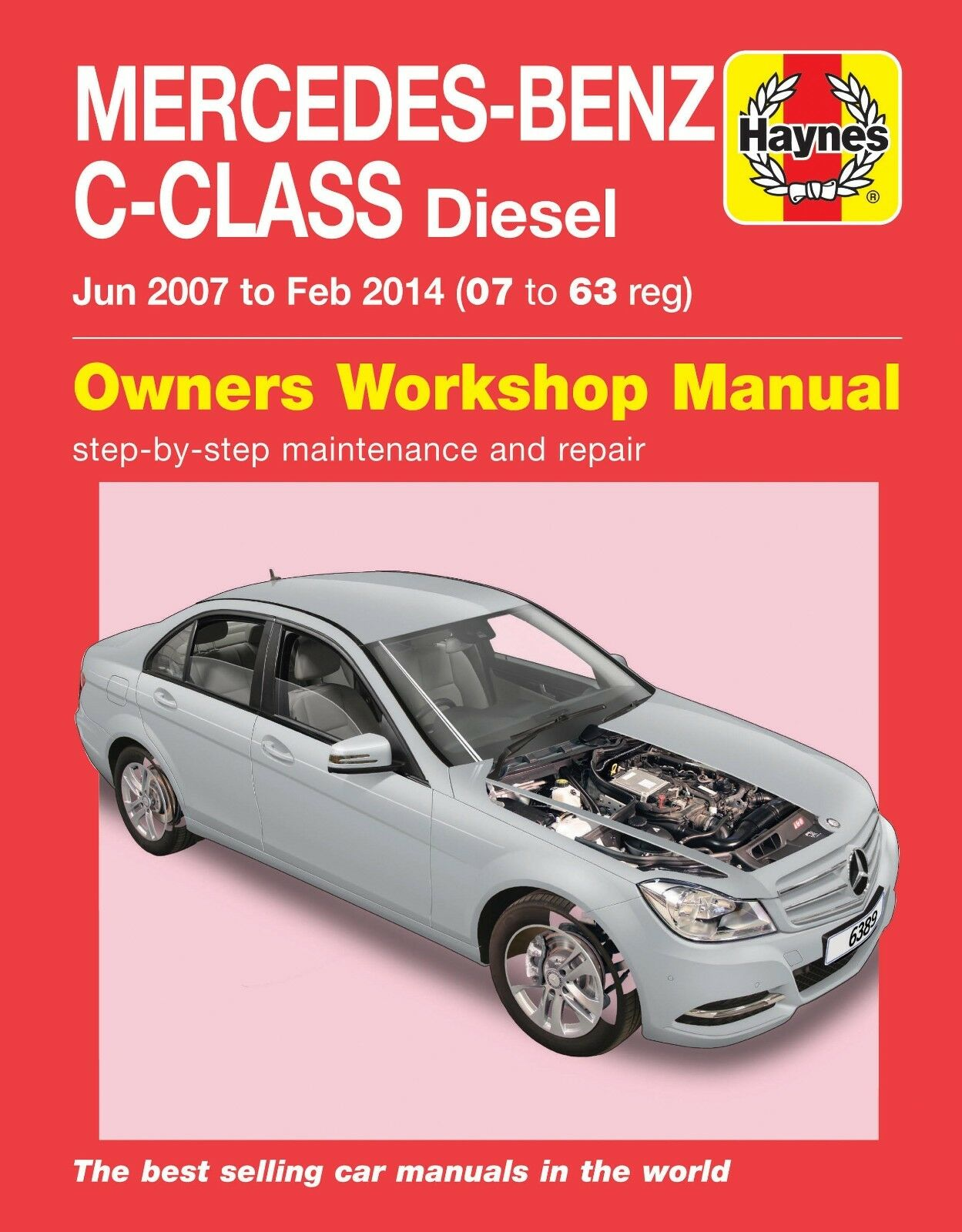 Mercedes Benz C Class Repair Manual Haynes Manual Workshop Manual 2007-2014  1 of 1 See More