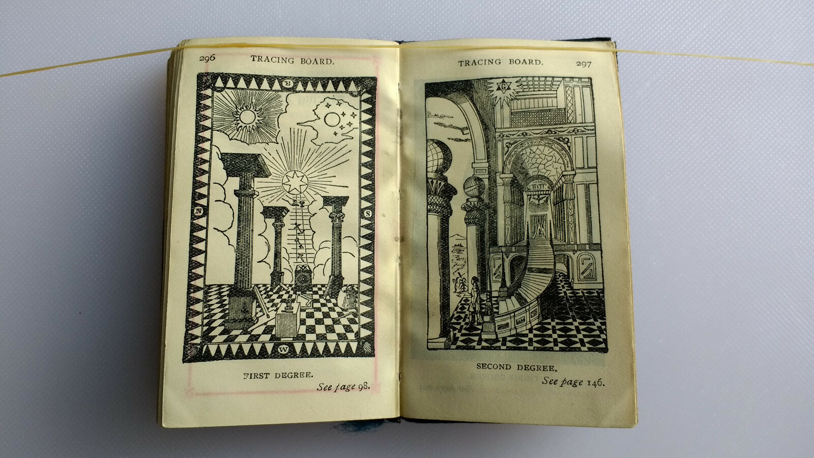 1924 masonic craft emulation ritual freemason book
