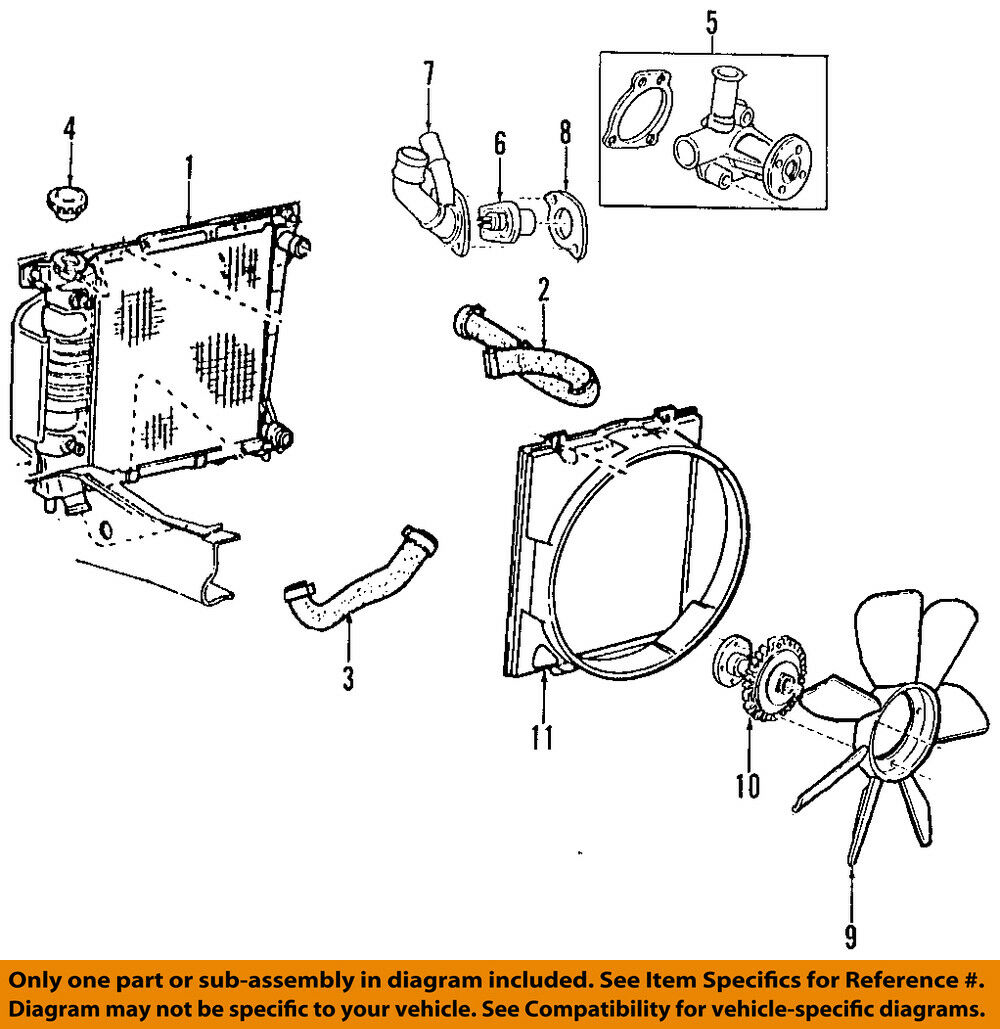 Mazda Oem 01 04 B2300 Engine Coolant Thermostat 1f2015171 18676 2004 B3000 Diagram 1 Of 1only Available