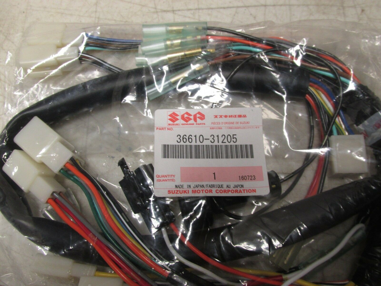 Suzuki Gt750 Gt 750 Electrical Wire Main Wiring Harness 10842 1 Of See More