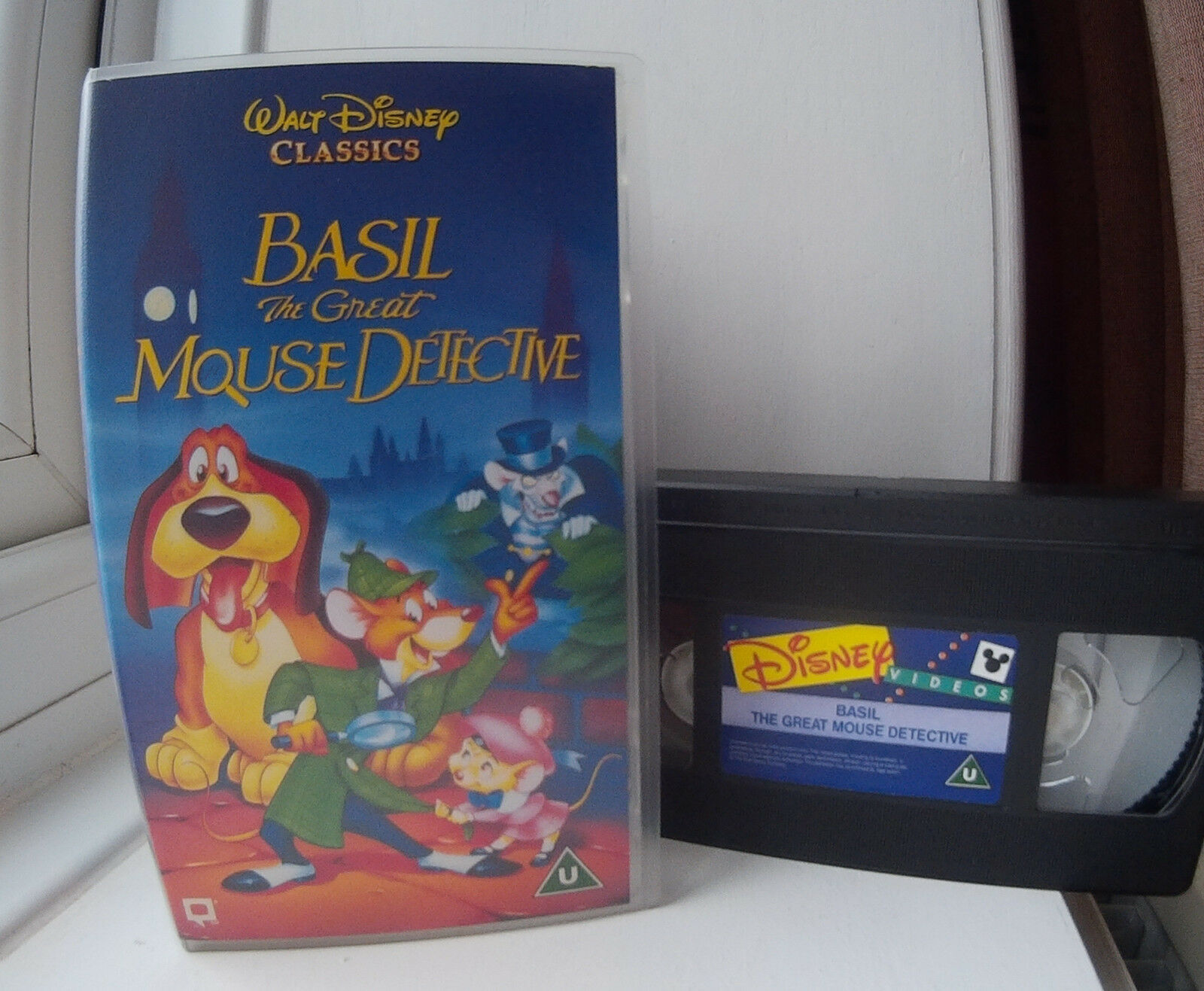 Basil The Great Mouse Detective 1986 Disneys 26th Animated Terminator X3 1 Of 3only Available