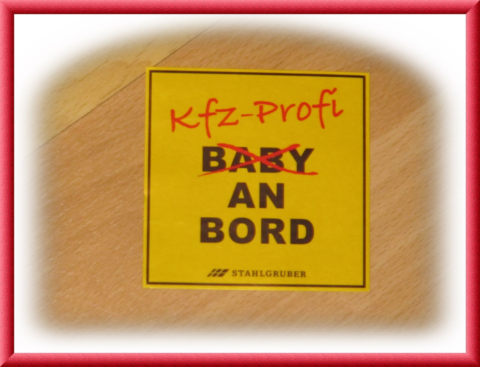 baby an bord aufkleber kfz profi stahlgruber 1 st ck sticker neu und unbenutzt picclick de. Black Bedroom Furniture Sets. Home Design Ideas