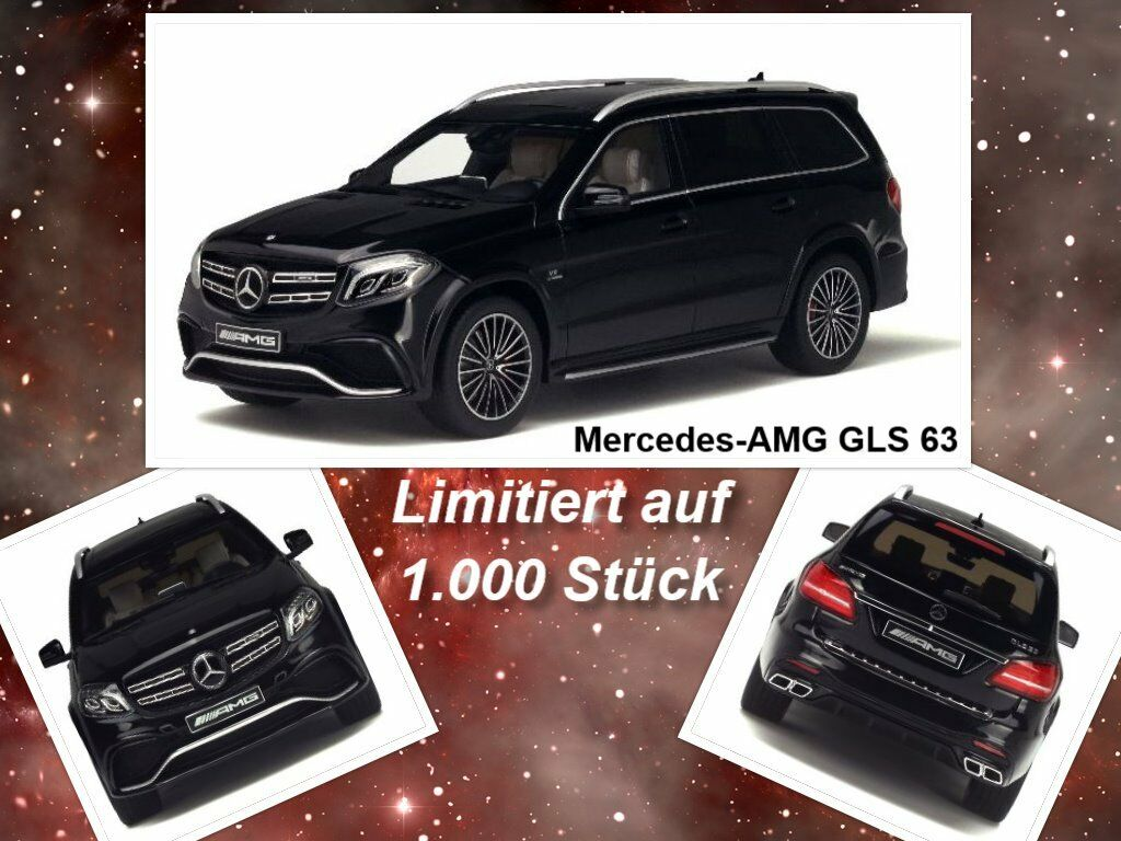 mercedes amg gls 63 limitiert stk gt spirit ma stab 1 18 ovp neu eur 92 95 picclick fr. Black Bedroom Furniture Sets. Home Design Ideas