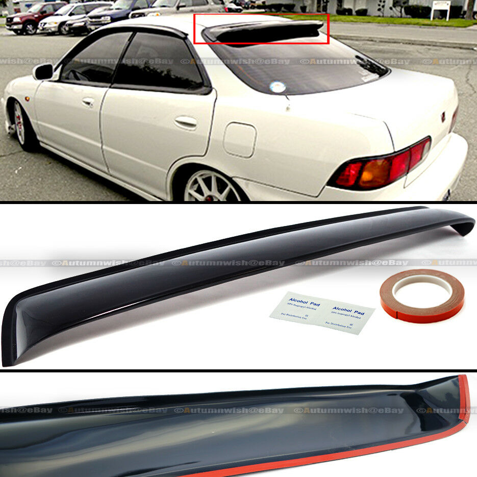 FOR ACURA Integra DR Sedan JDM Rear Window Roof Vent Visor - Acura integra spoiler