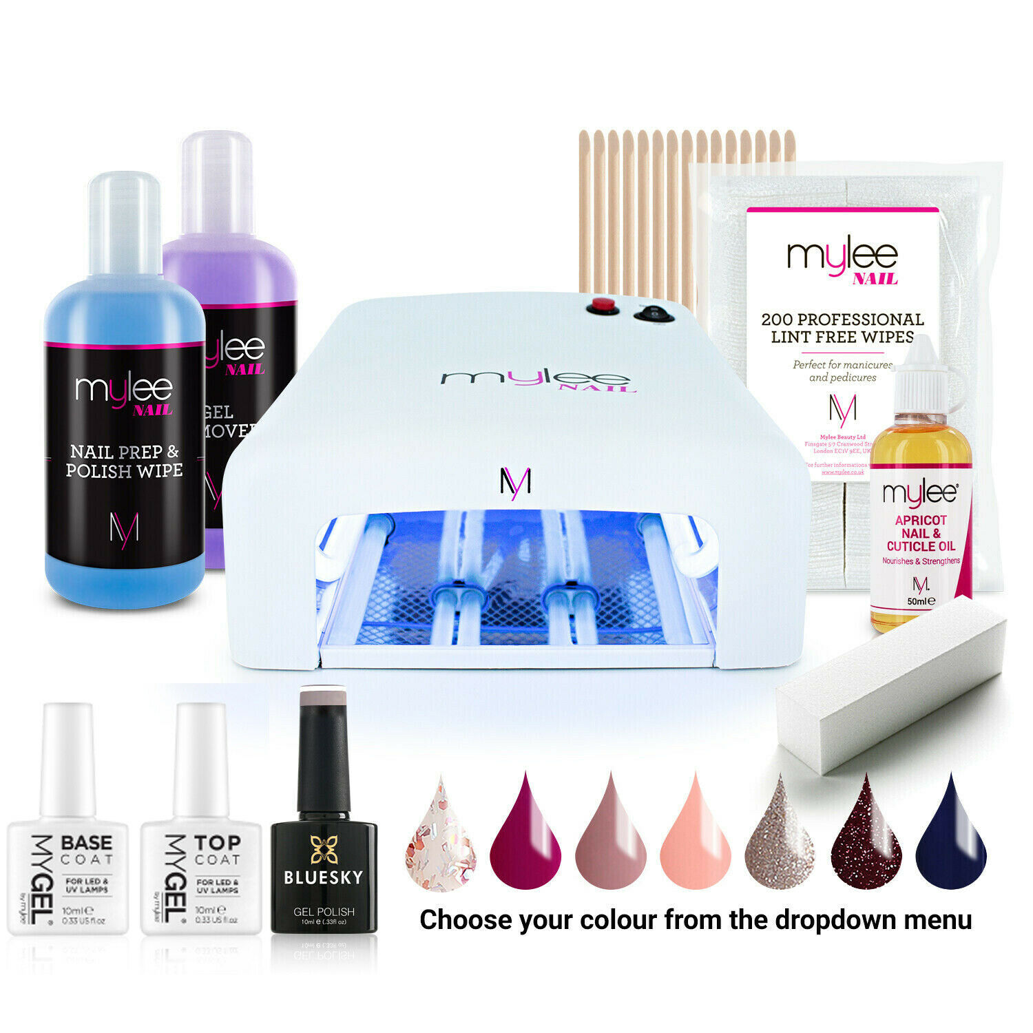 mylee nail lamp how to use