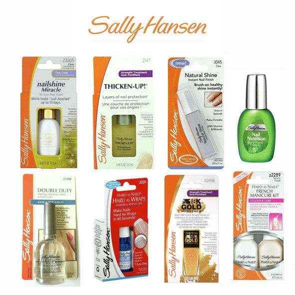 SALLY HANSEN NAIL Care Treatment Nail Growth Strengthener Topcoat ...