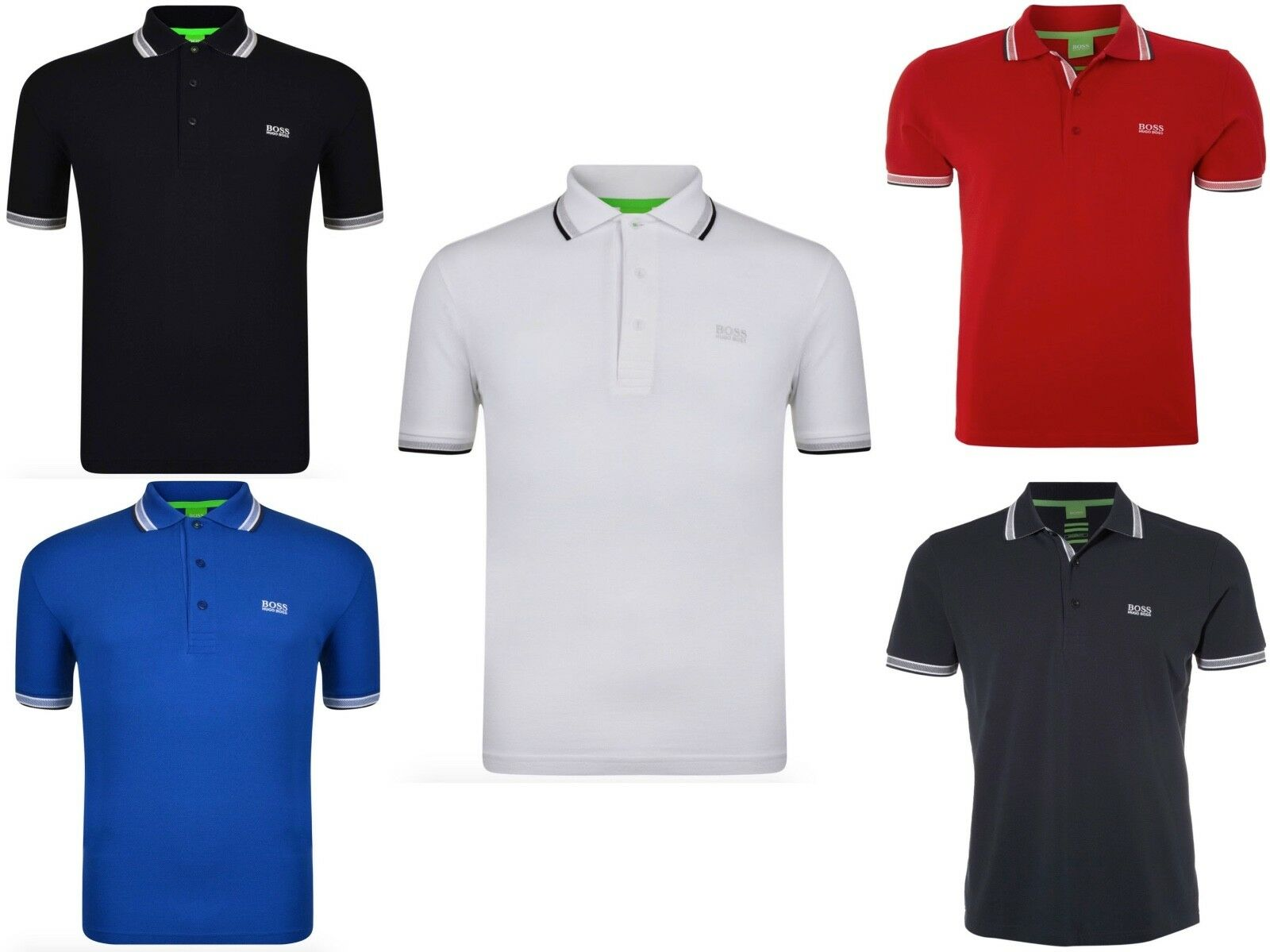 Hugo boss men 39 s polo t shirt cotton regular fit polo s xxl for Hugo boss polo shirts xxl