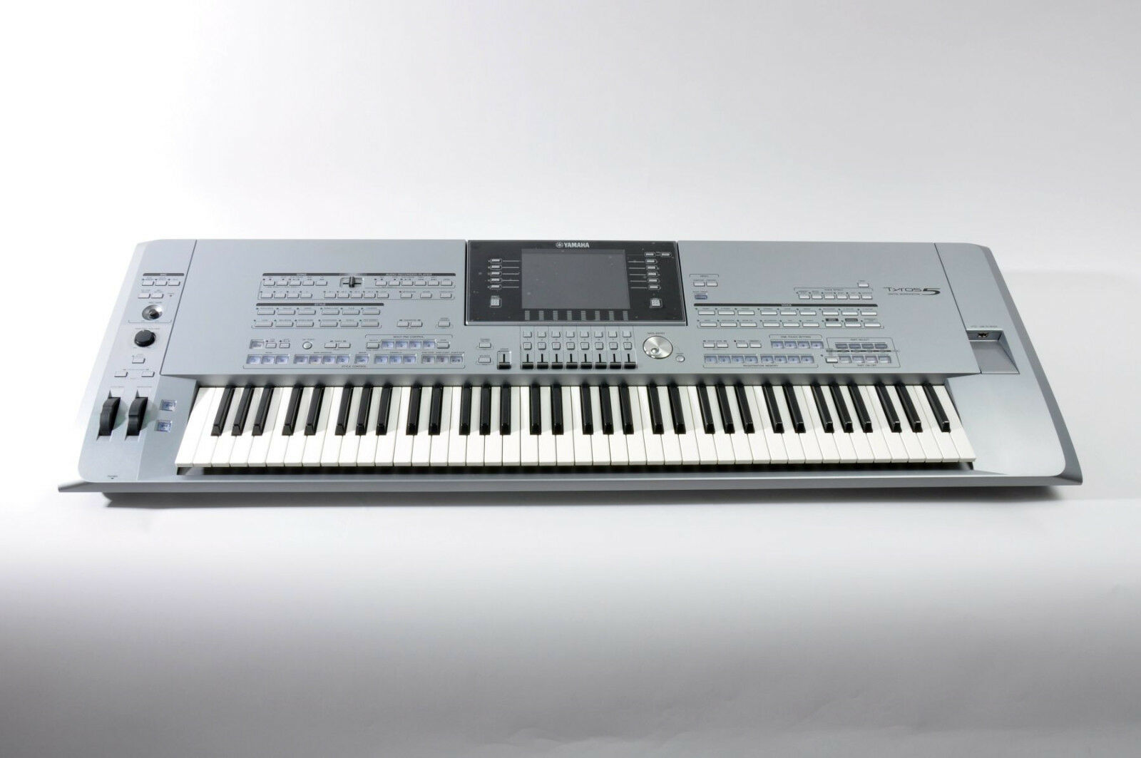 yamaha tyros 5 keyboard 76 vom fachgesch ft in top zustand. Black Bedroom Furniture Sets. Home Design Ideas