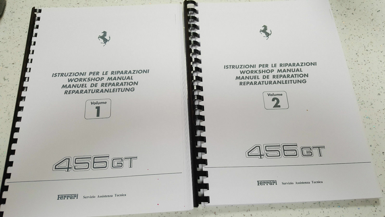 Ferrari 456 Gt Workshop Manual Reprinted - Wiring Diagrams Are For The 456M  1 of 9FREE Shipping ...