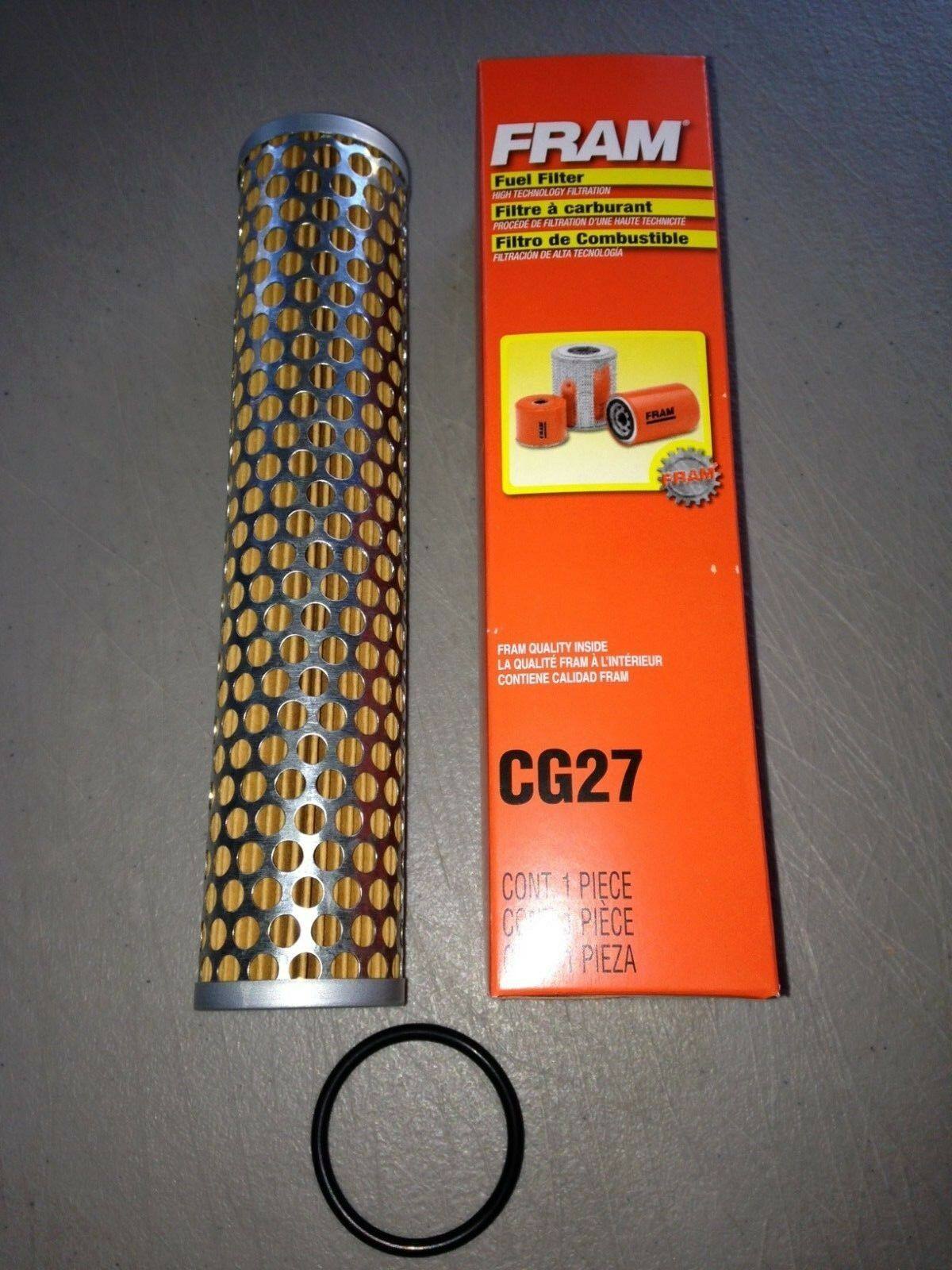 Fram CG27 Racing/Security/Gapco/ Gas Pump Fuel Filter Cartridge 1 of 1Only  1 available ...