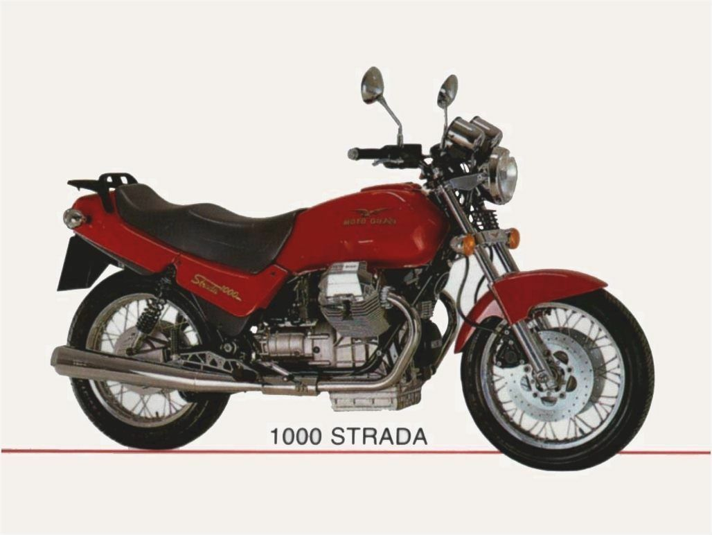 Workshop Manual Motorrad Guzzi Strada 1000 Service Pdf Dvd Repair English 1  of 1 See More