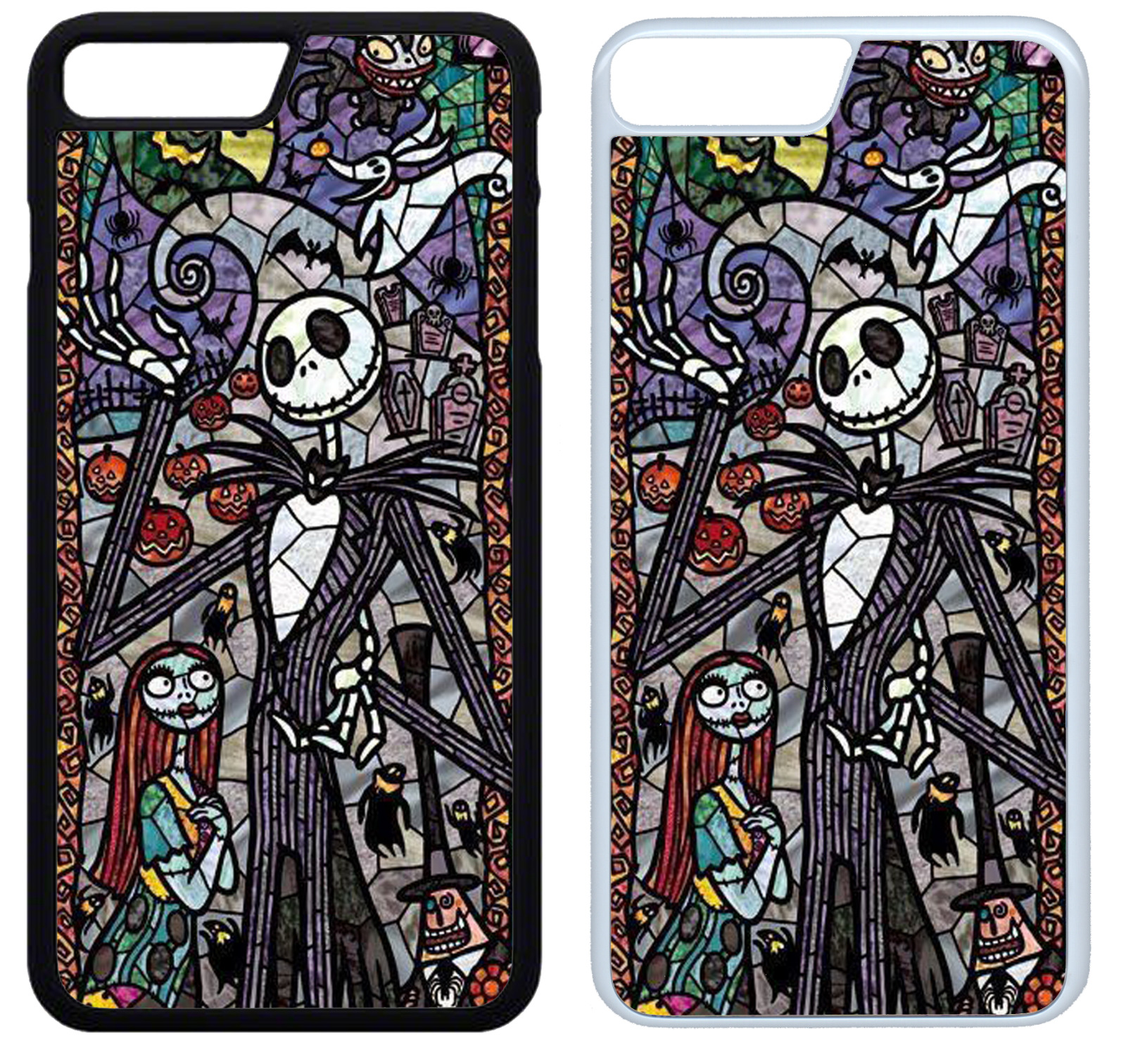 STAINED GLASS NIGHTMARE BEFORE CHRISTMAS Phone Case iPhone 4 5 6 7 8 ...