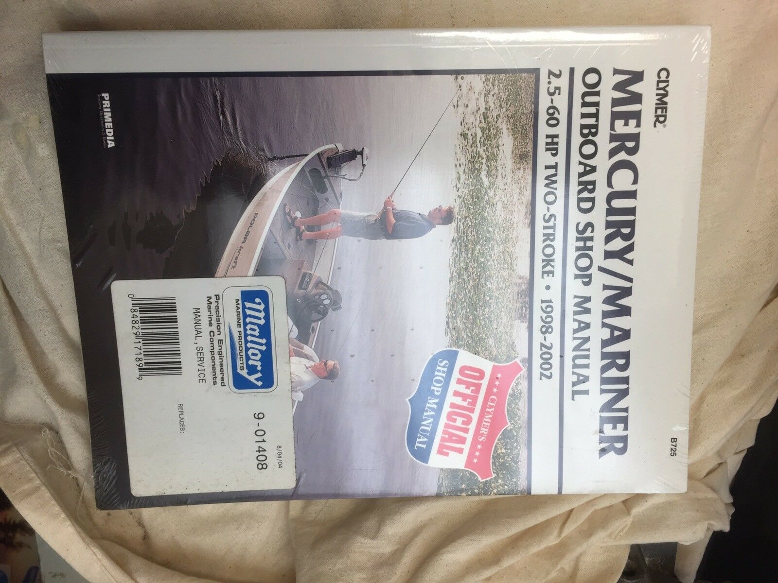 Mercury/Mariner 2.5-60 Hp 4 Stroke Outboard Engine Workshop Manual 1998-2002  1 of 2Only 1 available ...