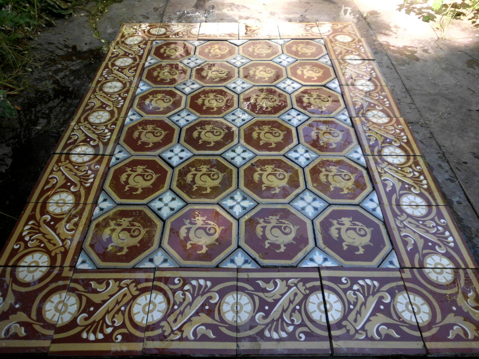 Carrelage ancien for Ancien carrelage