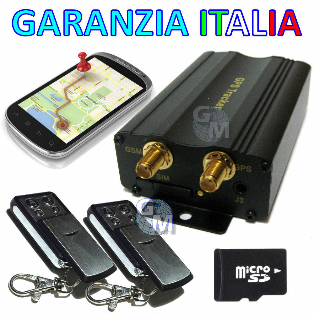 tracker gps antifurto localizzatore satellitare tk104 pro. Black Bedroom Furniture Sets. Home Design Ideas