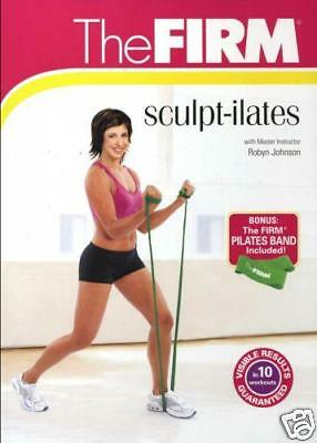 THE FIRM SCULPT-ILATES Workout DVD w/A NEW PILATES BAND