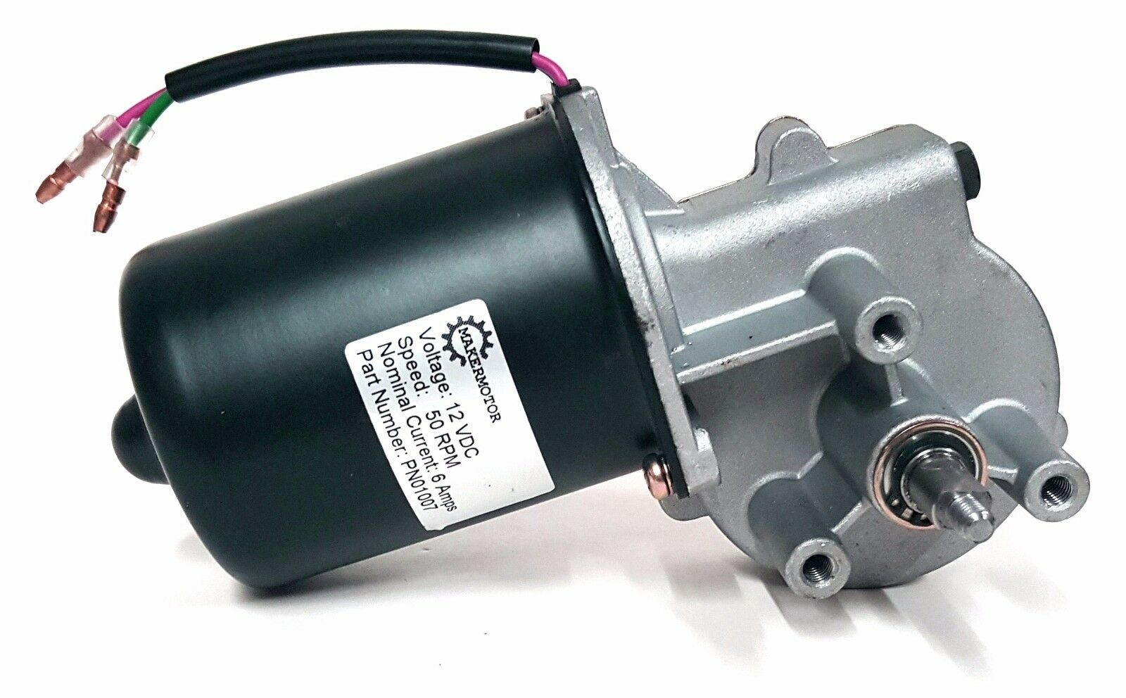 Electric Gear Motor 12v Low Speed 50 Rpm Gearmotor Dc