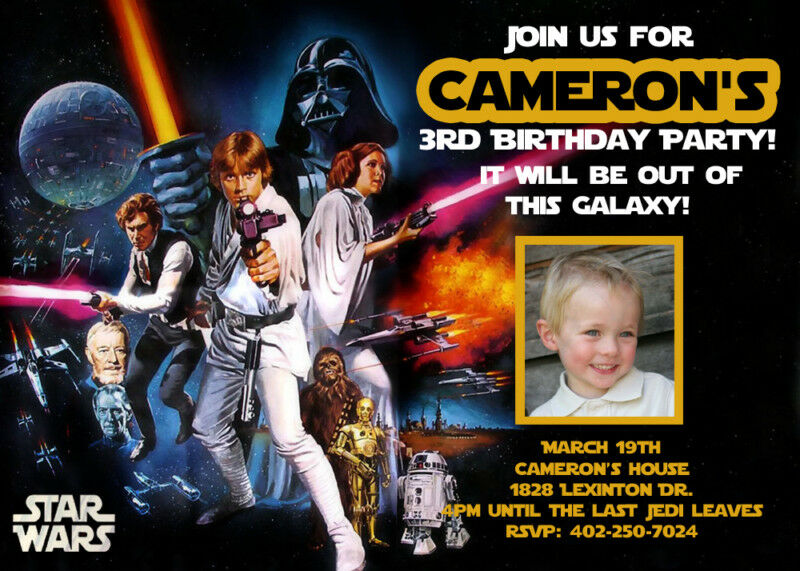Star Wars Personalized Birthday Invitations is the best ideas you have to choose for invitation example