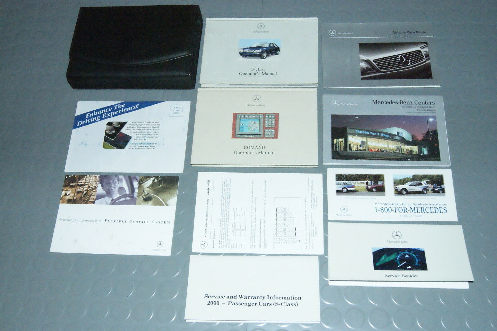 2000 Mercedes Benz S430 S500 S 430 500 Owners Manual - SET w/Nav Manual 1  of 1Only 5 available ...