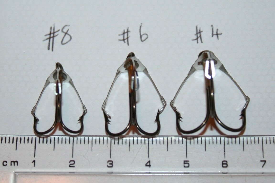 FISHING HOOKS EAGLE Claw WEEDLESS fish snaggy swims superb ...