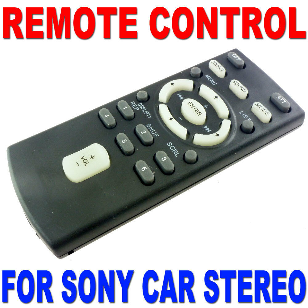 Remote Control For Sony Cd Mp3 Dvd Car Radio Stereo Most Models Mex Bt3700u Wiring Harness 1 Of 1free Shipping