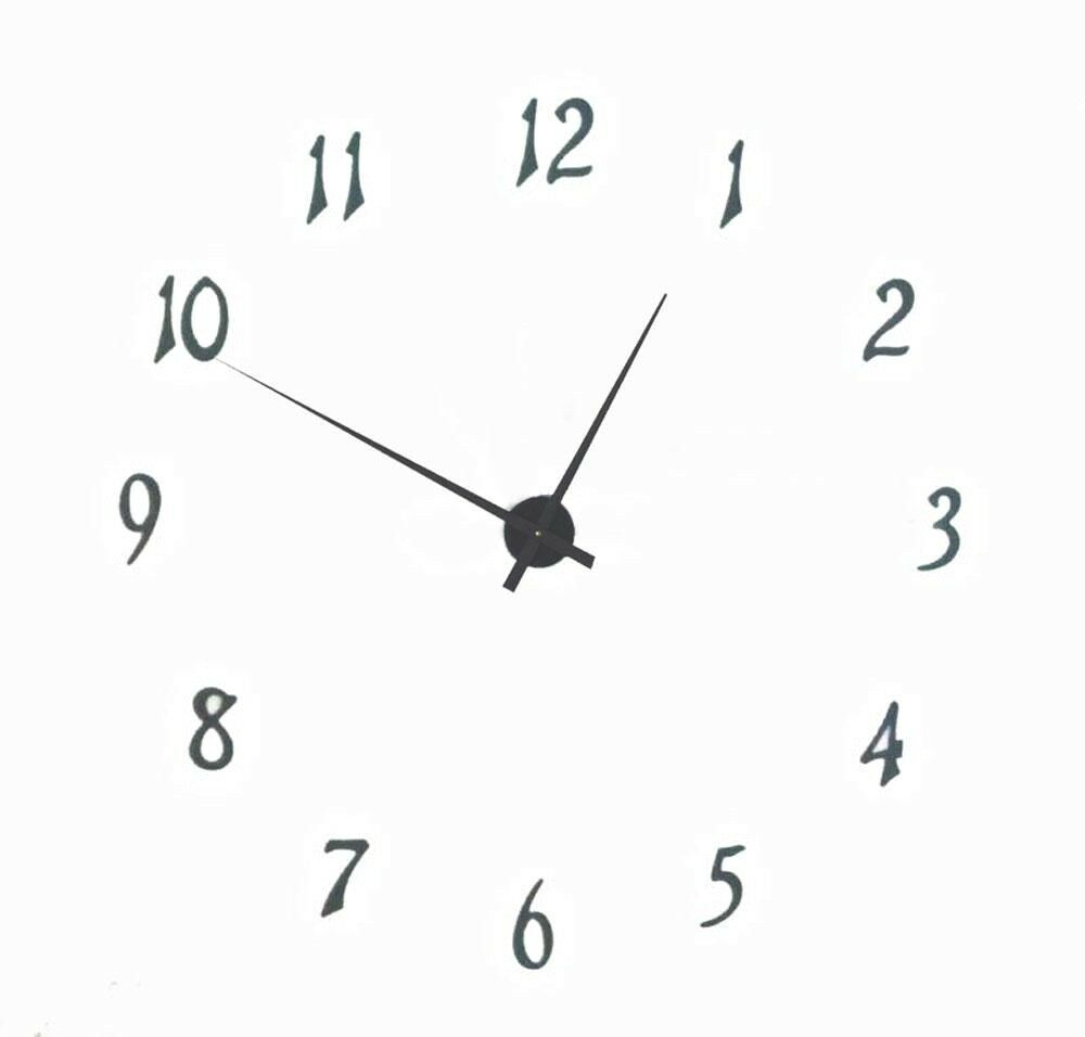 Large 39 Complete Wall Clock Kit With Hands Motor And