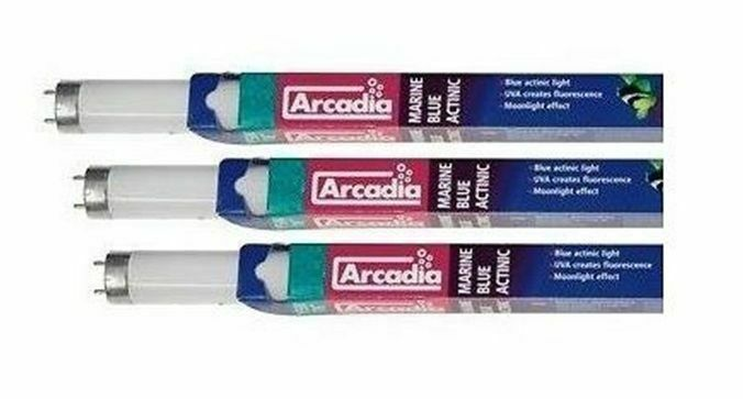 Arcadia Marine Blue T8 Light Bulb 15W 18W 25W 30W 36W 38W Fish Tank Tube Lamp