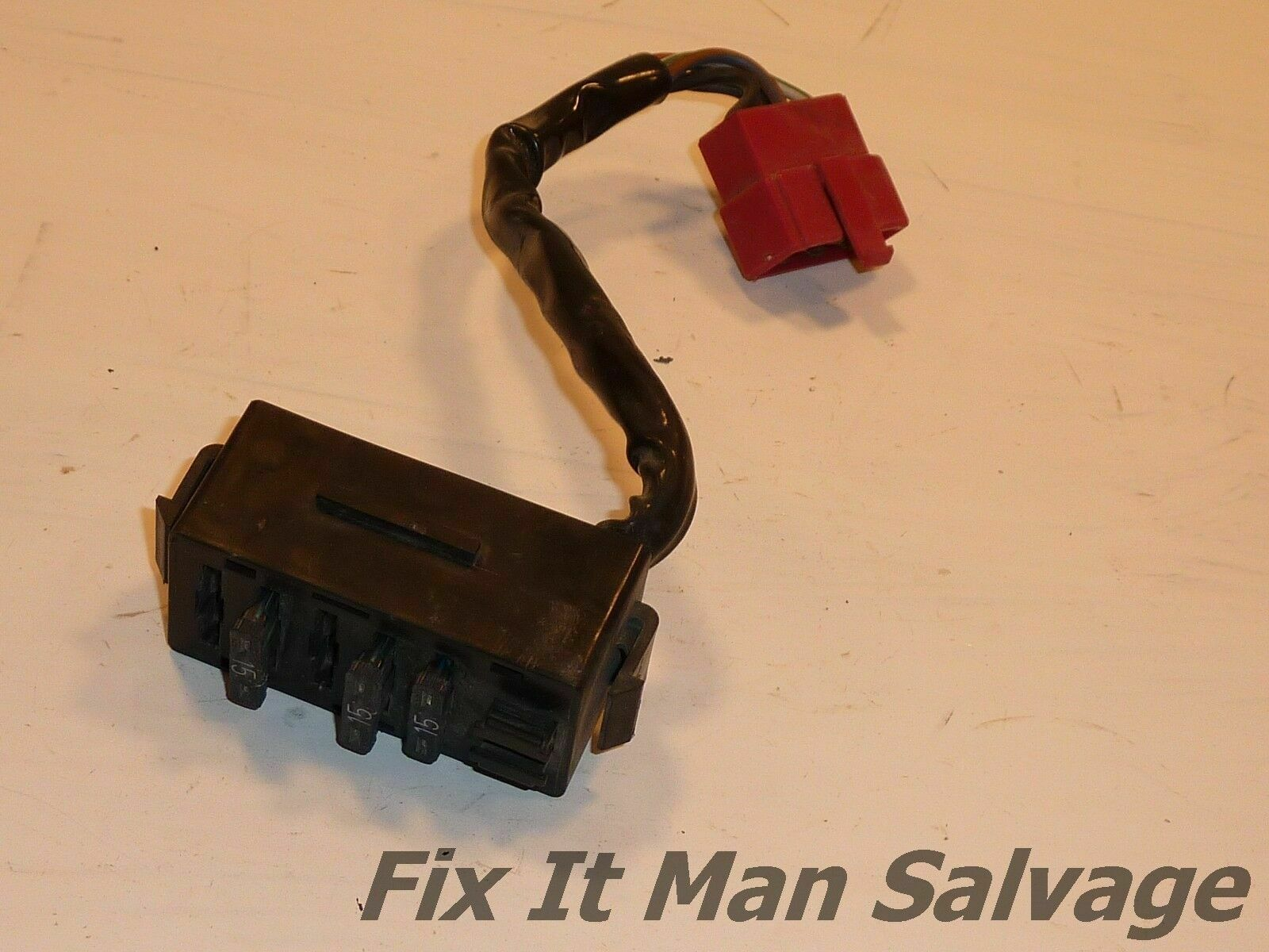 83 honda magna v65 fuse panel oem fuse box fusebox holder wire rh picclick com