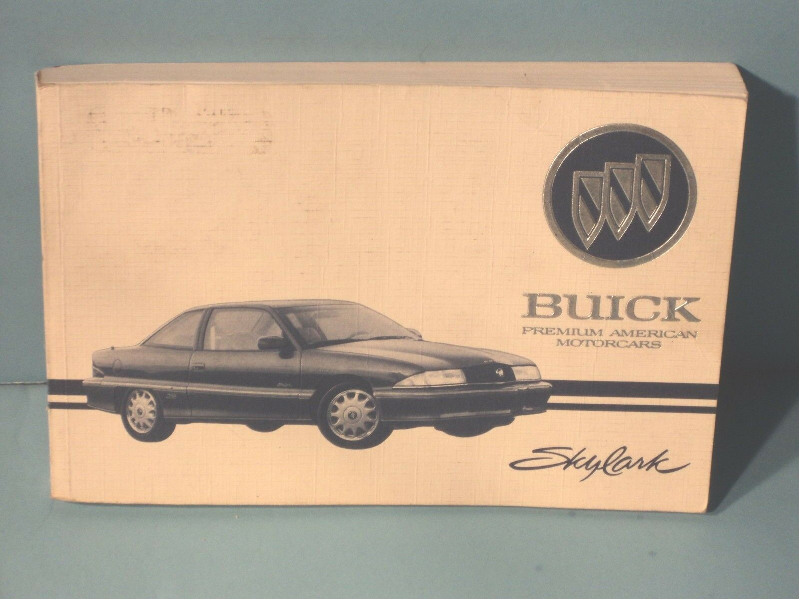 94 1994 Buick Skylark owners manual 1 of 1Only 2 available ...