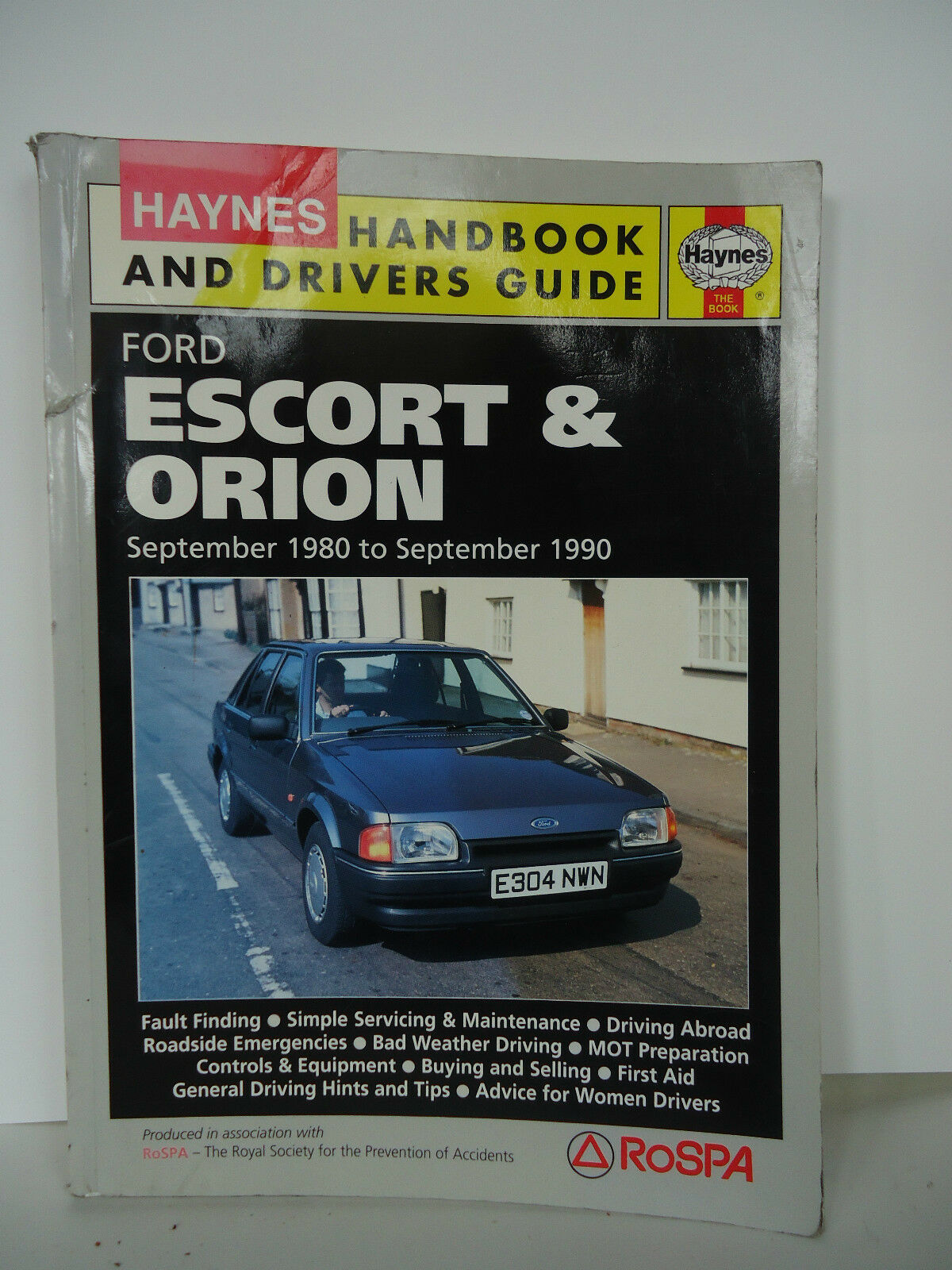 Haynes Manual Ford Escort & Orion 1 of 1Only 1 available ...