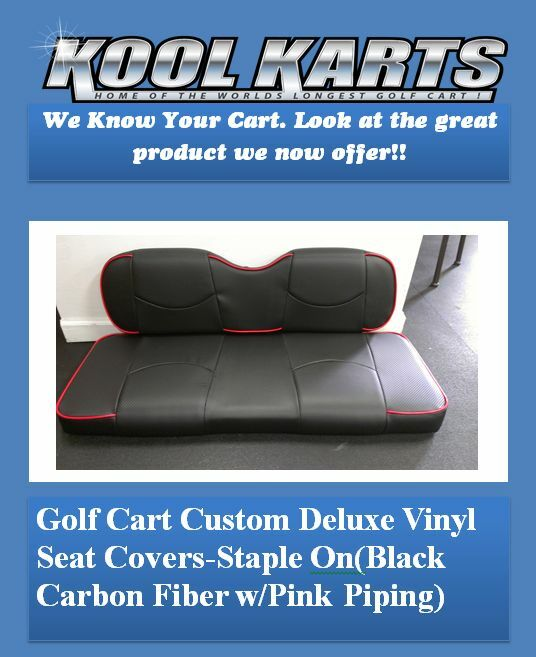 Club Car DS 00 Up Golf Cart Front Seat Replacement Covers Set 1 Of 3Only 5 Available See More