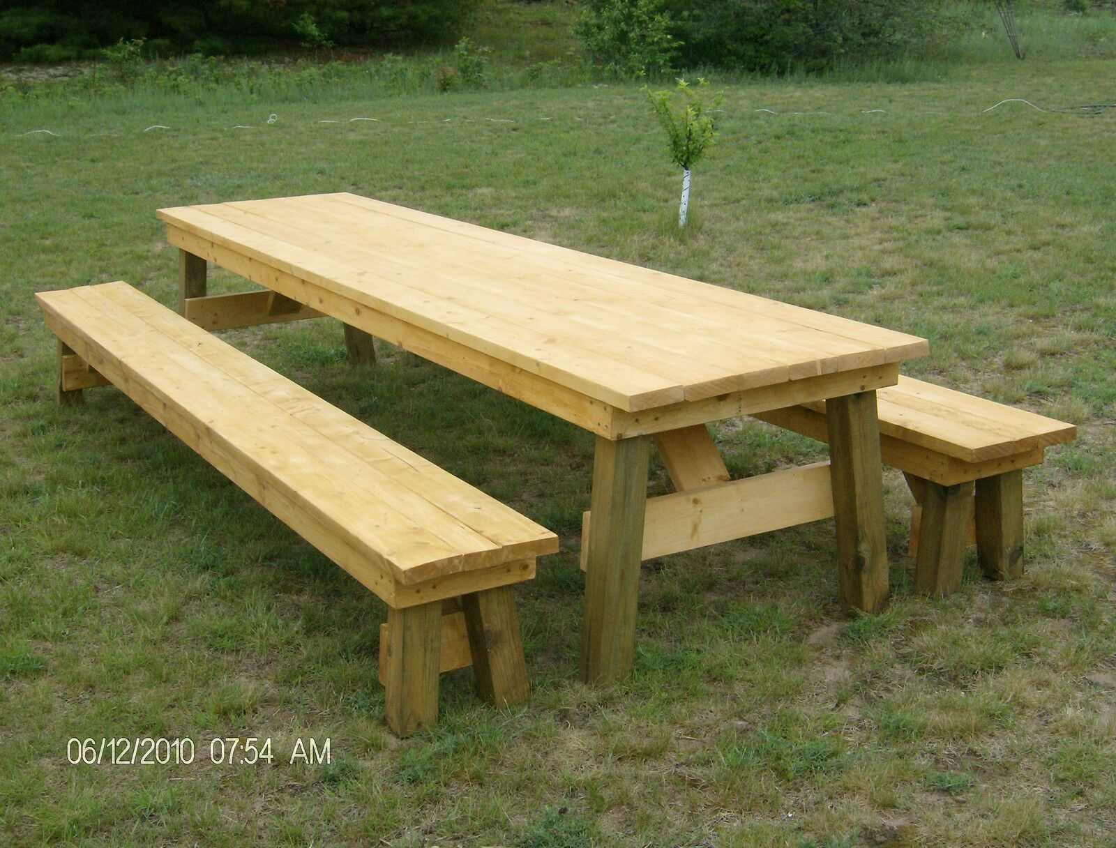picnic table with one of these 14 free plans weekend picnic table