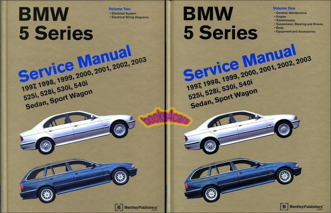 Bmw Shop Manual Service Repair Book E39 97 03 5 Series E 39 Auto 735i 1986 Electrical 1 Of 1free Shipping
