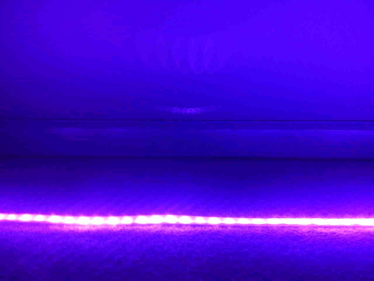 Ultraviolet led strip uv black light night fishing strip for Uv fishing light