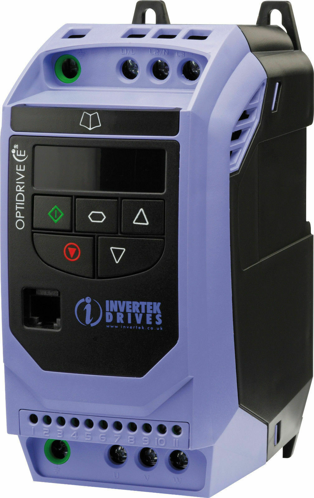10 Hp Ip20 Three Phase Ac Inverter Variable Speed