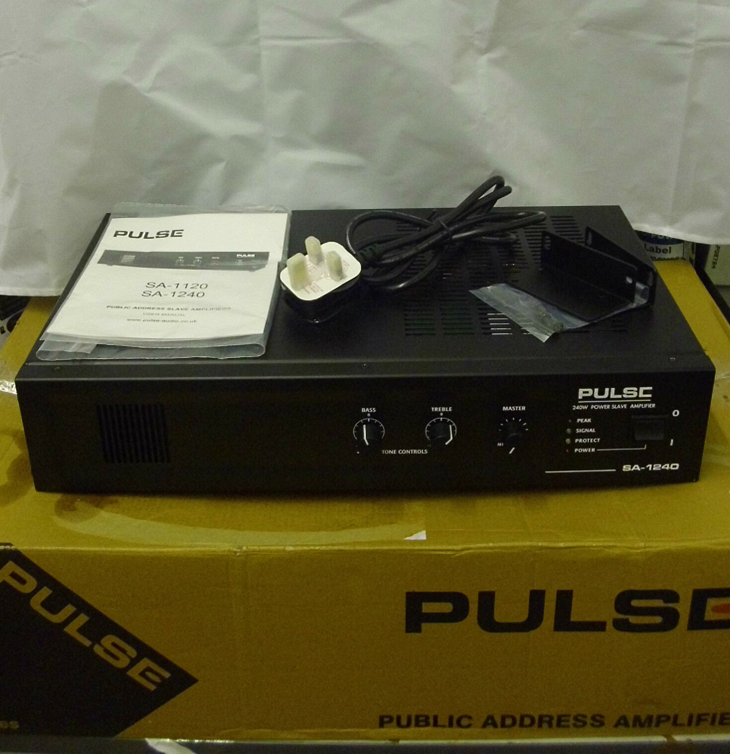 Pulse Sa 1240 Slave Amplifier 240w Jw905 C3 10000 Picclick Uk Mosfet 1 Of 1only 2 Available